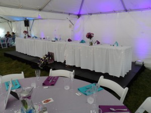 Head Table Guest Tables