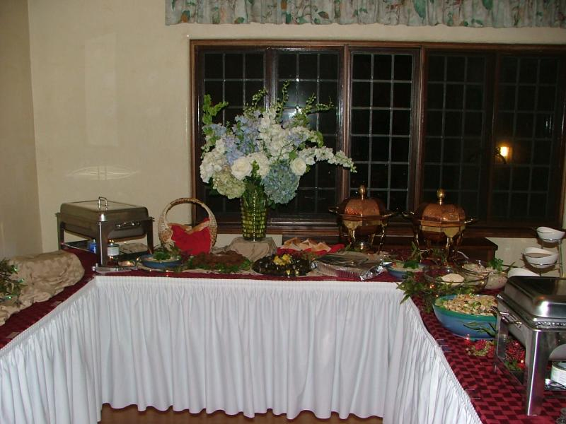 Theme Wedding Buffets